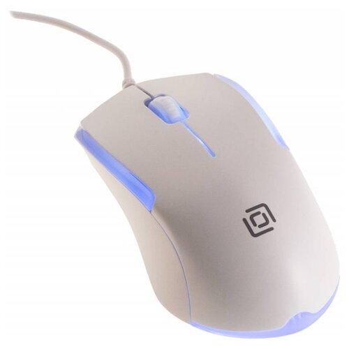 Мышь OKLICK 245M White USB