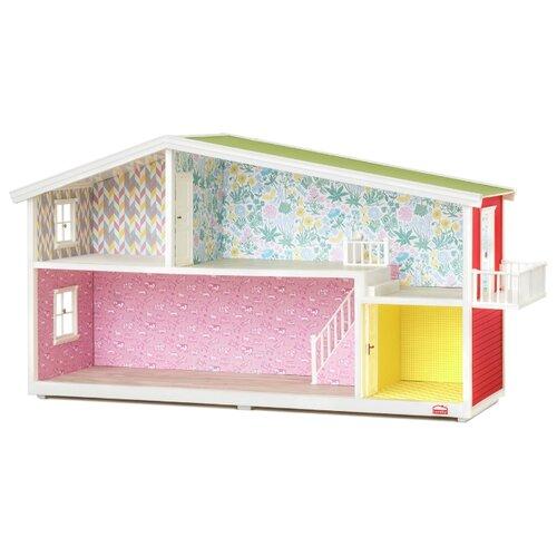 Купить Lundby кукольный домик Классический LB_60101900, розовый/зеленый/голубой, Кукольные домики