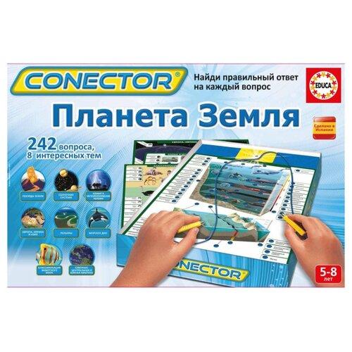 Настольная игра Educa Электровикторина Планета Земля 17493 настольная игра настольная обучающая электровикторина английский язык 0 37 0 24 0 045