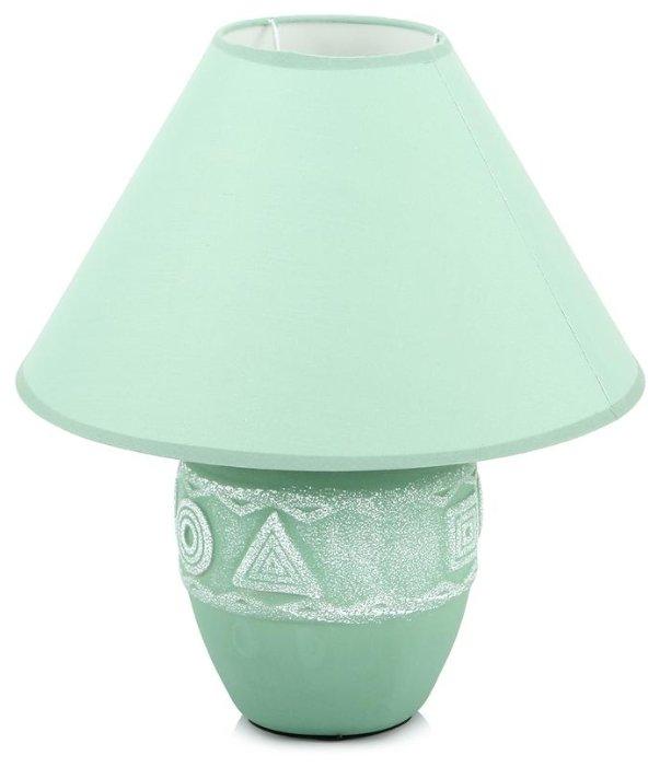 Настольная лампа Lucia Геометрия D1902 зеленая