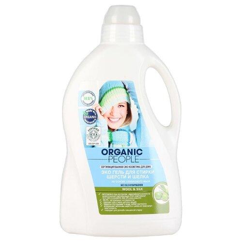 Гель для стирки Organic People для шерсти и шелка 1.5 л бутылка