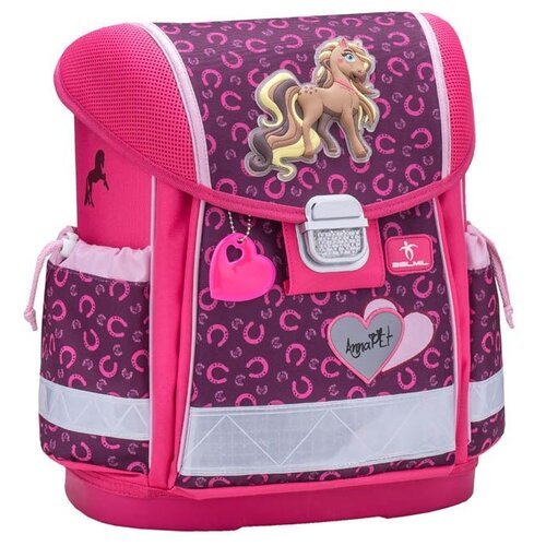 Купить Belmil Ранец Classy Anna Pet, Pony (403-13/622), розовый/фиолетовый, Рюкзаки, ранцы