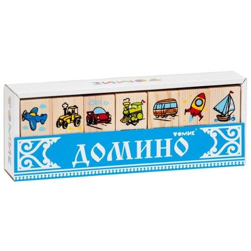 цена на Настольная игра Томик Домино Транспорт