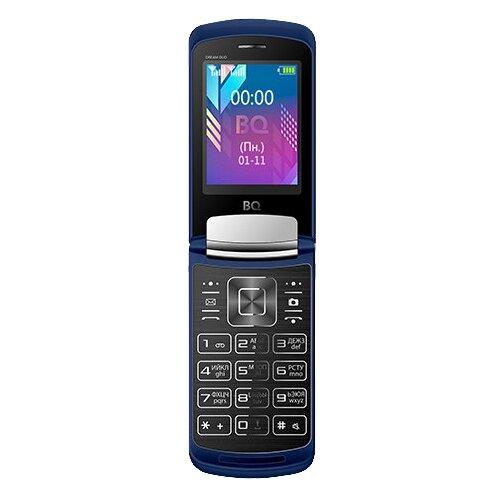 Телефон BQ 2433 Dream DUO темно-синий [available with 10 11] linen duo love dream