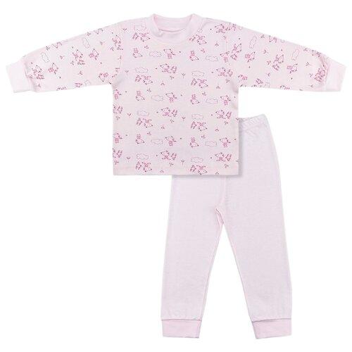Пижама LEO размер 86, розовыйДомашняя одежда<br>