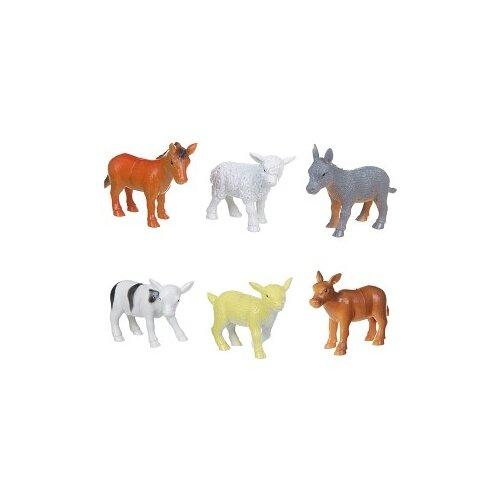 Фигурки BONDIBON Ребятам о зверятах - Детеныши домашних животных ВВ1632
