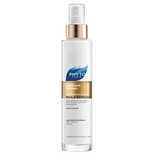 PHYTO Huile Soyeuse Флюид Шелковое молочко для интенсивного увлажнения волос, 100 мл phyto для волос витамины купить