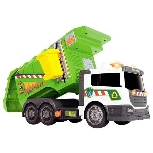 Мусоровоз Dickie Toys 3308382 39 см зеленый/белыйМашинки и техника<br>