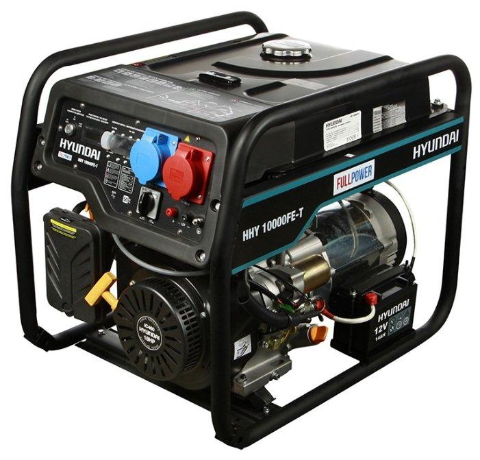 Бензиновый генератор Hyundai HHY 10000FE T (7500