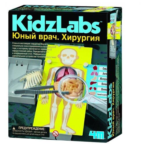 Набор 4M Юный врач. Хирургия игровой набор 4m юный врач анатомия человека 00 03374