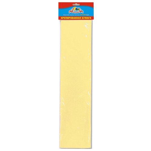 Купить Цветная бумага крепированная Апплика, 50х250 см, 1 л., Цветная бумага и картон