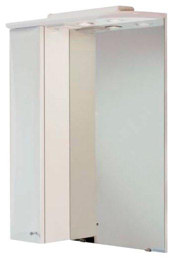 Зеркало Акватон Джимми 57 (1A034002DJ01L) левостороннее, белое