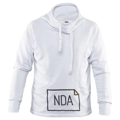Толстовка «NDA» Яндекс мужская (размер M), белыйСувениры Яндекс<br>
