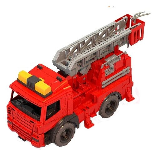 Пожарный автомобиль Нордпласт Спецтехника пожарная (203) 50 см красный/серый/желтыйМашинки и техника<br>