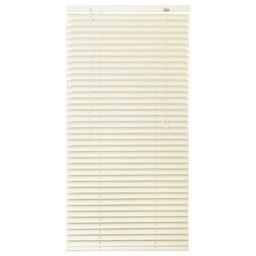 Горизонтальные жалюзи Эскар алюминиевые, 50х160 см жалюзи эскар горизонтальные цвет белый ширина 140 см высота 160 см 5008140160