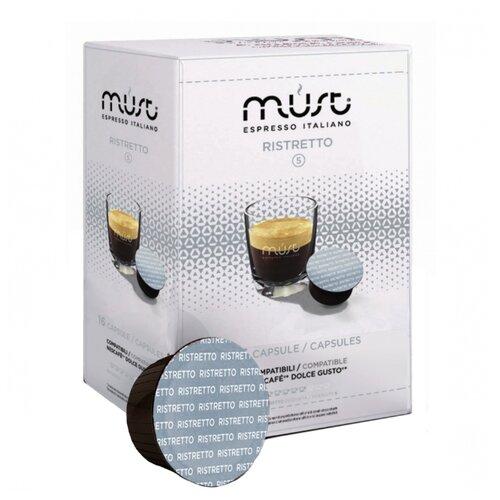 Фото - Кофе в капсулах MUST Ristretto (16 капс.) кофе в капсулах absolut drive латте маккиато 16 капс
