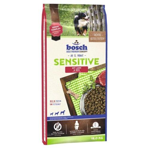 Сухой корм для собак Bosch Sensitive ягненок 15 кг
