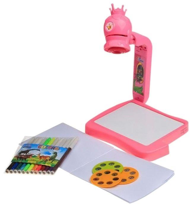 Доска для рисования детская Shenzhen Toys с проектором (8832)