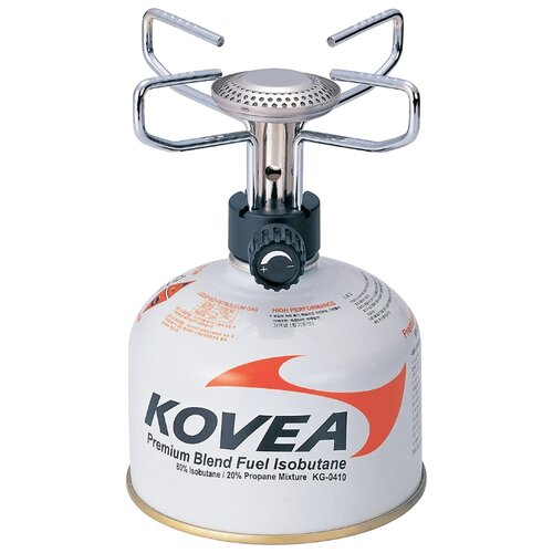 Горелка KOVEA TKB-9209 Backpackers Stove серебристый горелка kovea kb 0101 titanium stove серебристый