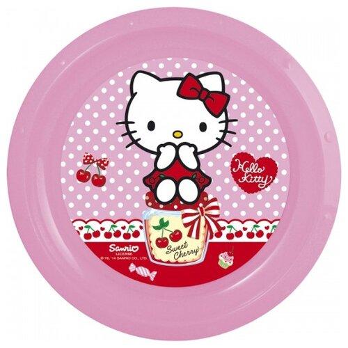 Stor Тарелка Hello Kitty 21.5 см розовый самокат hello kitty детский hc1003 kc розовый
