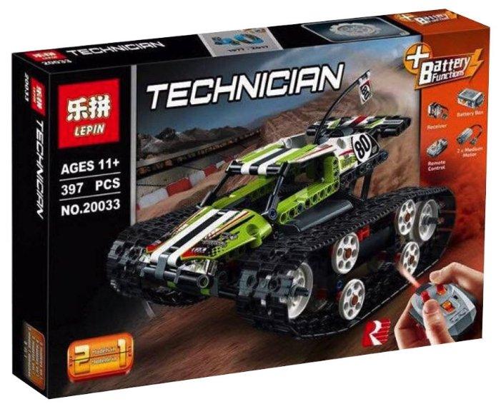 Электромеханический конструктор Lepin (King, Queen) Technican 20033 Скоростной вездеход
