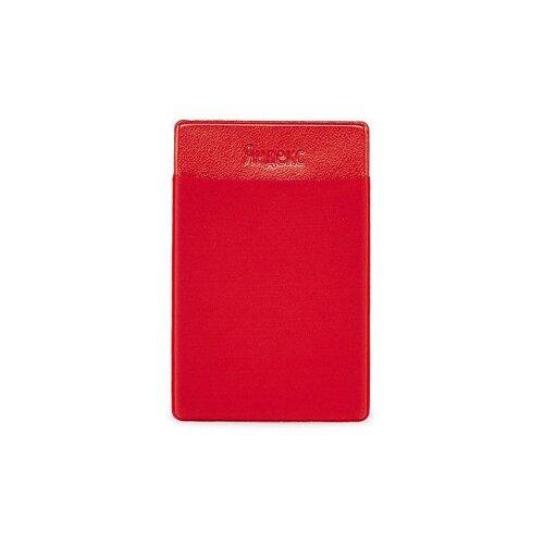 Карман для карт на телефон Яндекс, красный