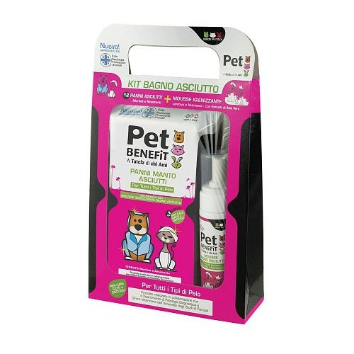 Комплект Pet Benefit Сухая ванна
