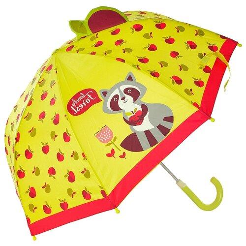 Зонт Mary Poppins желтый/красный