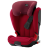 Автокресло группа 2/3 (15-36 кг) BRITAX ROMER Kidfix XP Isofix, Flame Red black series