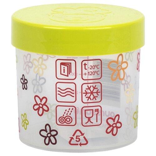 Oursson Банка для жидких и сыпучих продуктов JA55155/GA 500 мл хранение продуктов best home porcelain банка для сыпучих продуктов naturel 500 мл