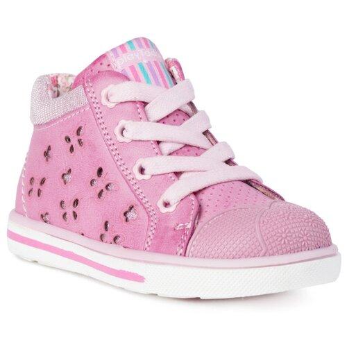 Купить со скидкой Ботинки playToday размер 24, розовый