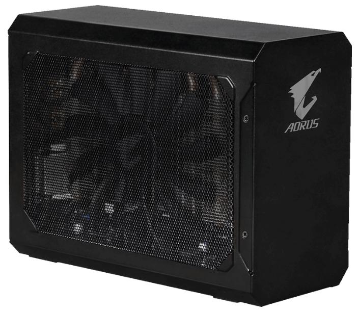 GIGABYTE Видеокарта GIGABYTE GeForce GTX 1080 1607Mhz PCI-E 3.0 8192Mb 10010Mhz 256 bit DVI HDMI HDCP AORUS Gaming Box