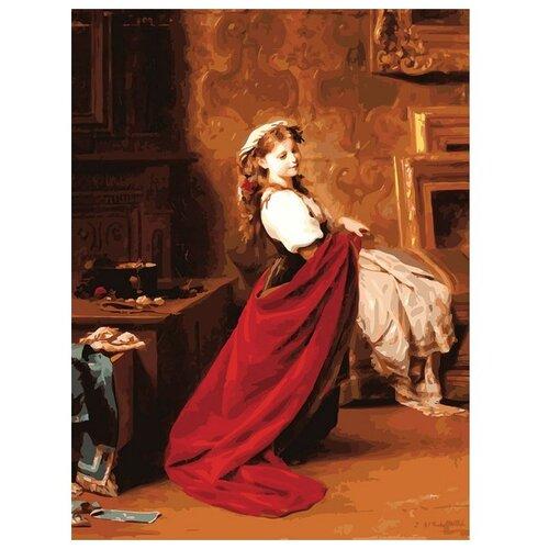 Белоснежка Картина по номерам Модница 30х40 см (310-AS) белоснежка картина по номерам спасибо 30х40 см 136 as