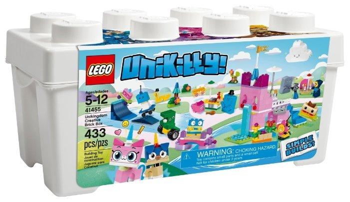 Конструктор LEGO Unikitty 41455 Коробка кубиков для творческого конструирования «Королевство»