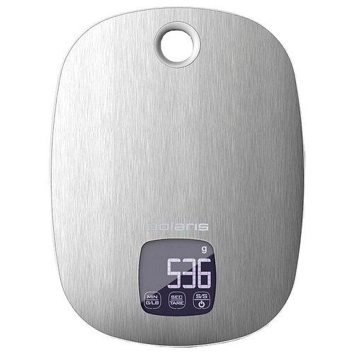 Фото - Кухонные весы Polaris PKS 0539DMT серебристый весы polaris pks 0539dmt