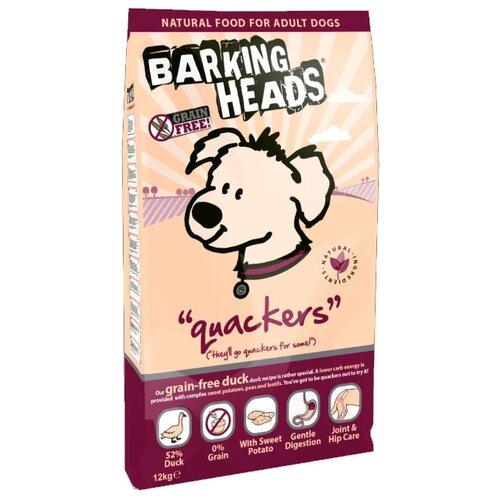 Корм для собак Barking Heads (12 кг) Беззерновой корм для собак с уткой и бататом Восхитительная уткаКорма для собак<br>
