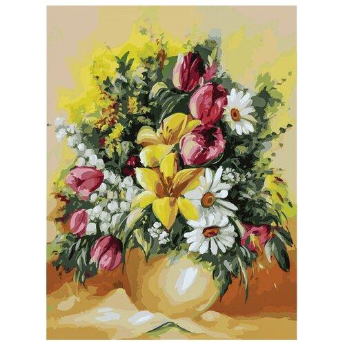 Купить Белоснежка Картина по номерам Душистый букет 30х40 см (303-AS), Картины по номерам и контурам