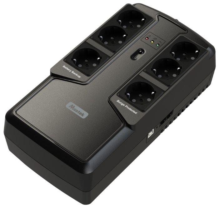 Резервный ИБП Mustek PowerMust 800 Offline Schuko
