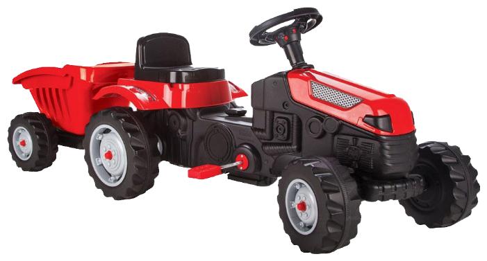 Веломобиль pilsan Active Tractor с прицепом (07-316)