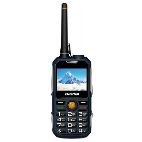 Телефон DIGMA LINX A230WT 2G, синий digma linx a230wt 2g черный