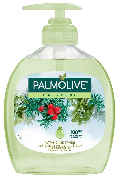 Мыло жидкое Palmolive Натурэль Алтайские травы с экстрактами женьшеня, чабреца и можжевельника