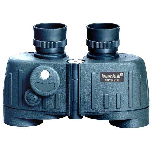 Бинокль LEVENHUK Nelson 8x30 синий бинокль pentax ap 8x30 wp