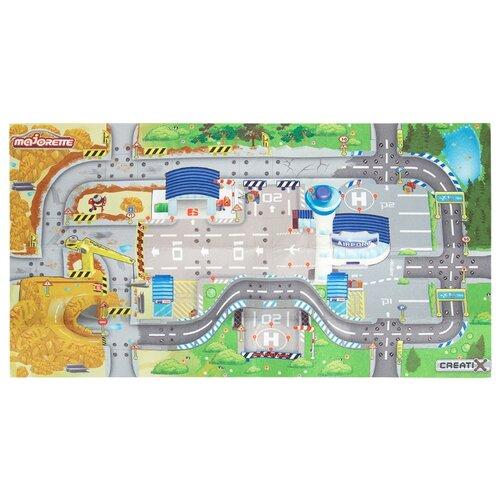 Фото - Коврик Majorette Creatix Construction / Airport (2056412) majorette игровой коврик creatix sos серии нескользящий 1 машинка
