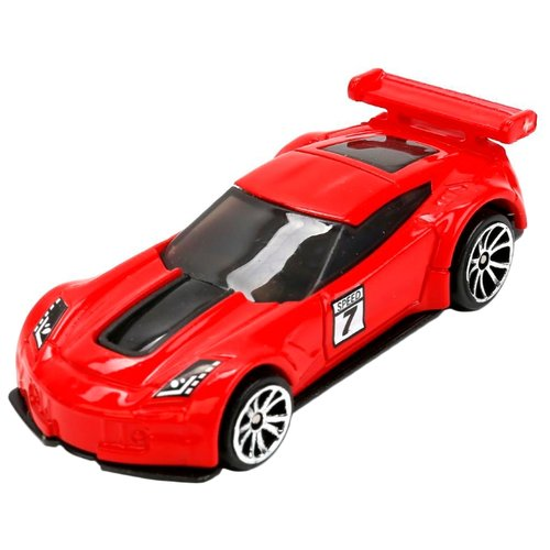 Гоночная машина ТЕХНОПАРК Road Racing (868-1R2) красный