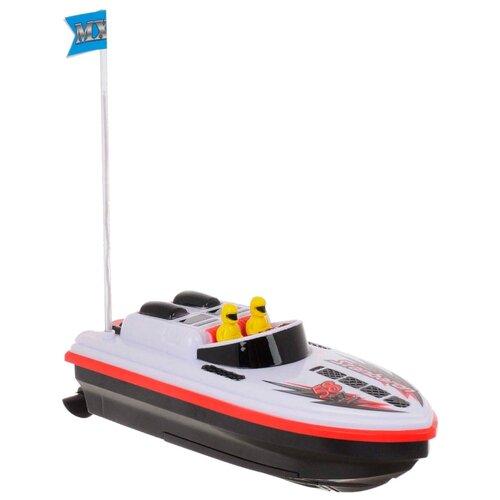 Купить Катер Yako M6532 21 см белый/черный, Радиоуправляемые игрушки