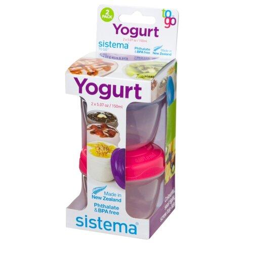 Sistema Набор контейнеров для йогурта TO GO 21466 мультиколорКонтейнеры и ланч-боксы<br>