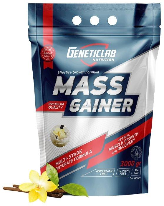Гейнер Geneticlab Nutrition Mass Gainer (3000 г)