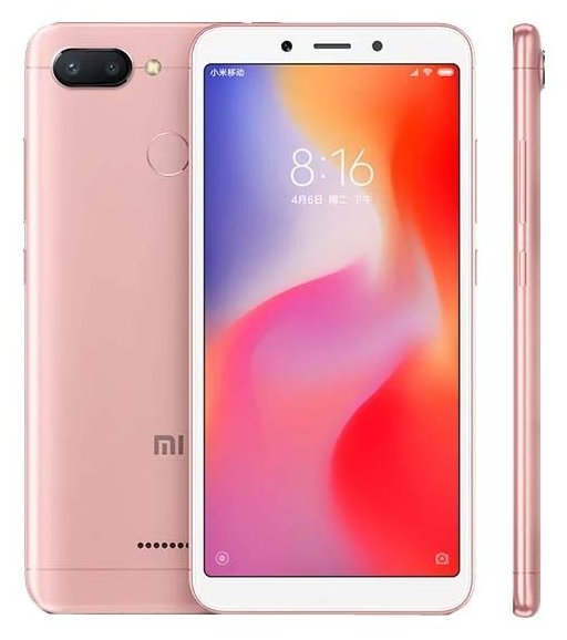Смартфон Xiaomi Redmi 6 4/64GB золотой (Global Version)