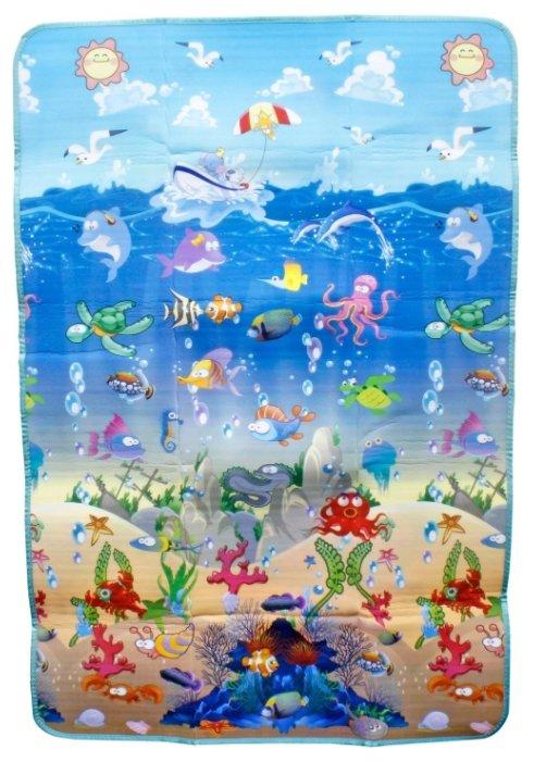 Коврик 1 TOY Море и животные малый (Т59128)