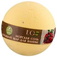 EO Laboratorie Бурлящий шар для ванны Чёрная смородина и клюква 220 г
